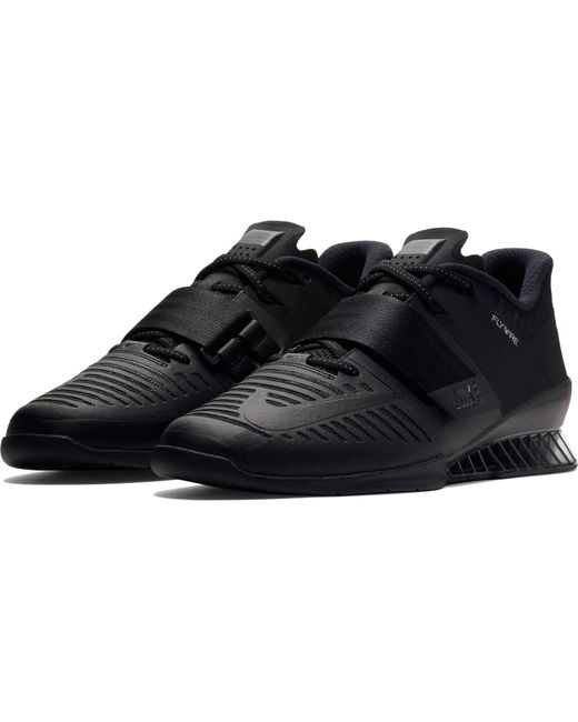 935cbe298fcb ... Nike - Black Romaleos 3 Weightlifting Shoe for Men - Lyst ...