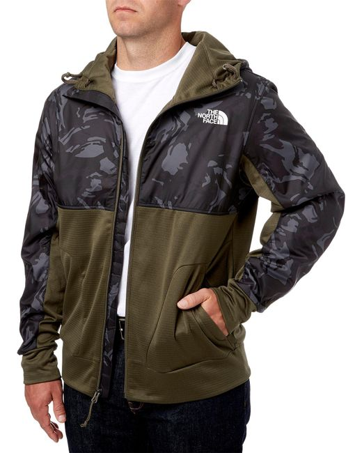 ... The North Face - Green Train N Logo Jacket for Men - Lyst ... 0f9f7682f