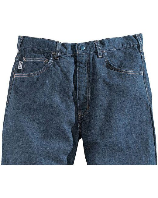 5b537121 ... Carhartt - Blue Flame Resistant Relaxed Fit Utility Jeans for Men - Lyst  ...