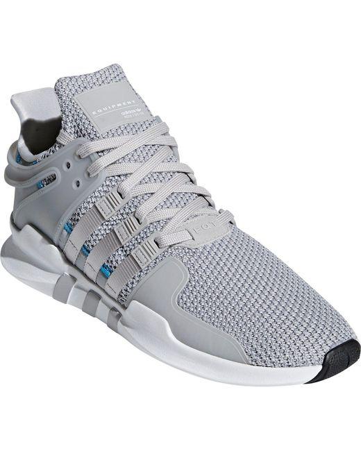 promo code 76f79 9a1fb ... Adidas - Gray Originals Eqt Support Adv Shoes for Men - Lyst ...