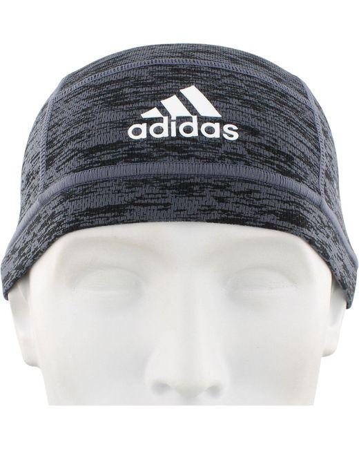 ... Adidas - Black Climacool Football Skull Cap for Men - Lyst ... d5ad10e16f2