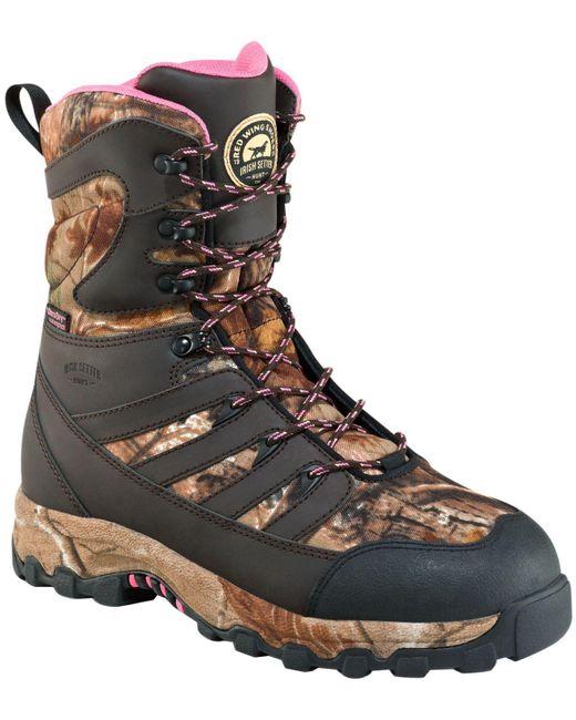 """Irish Setter - Brown Lady Hawk 9"""" Waterproof 2000g Field Hunting Boots - Lyst"""