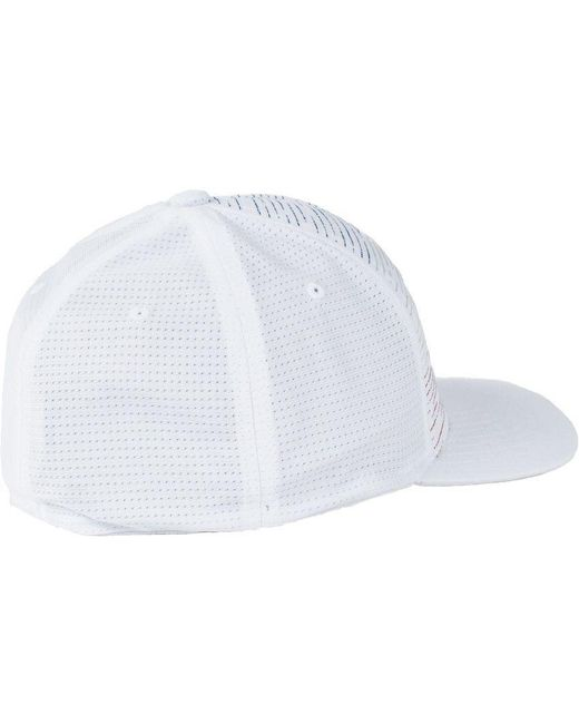 50b57930b81 ... Travis Mathew - White Hawking Golf Hat for Men - Lyst ...