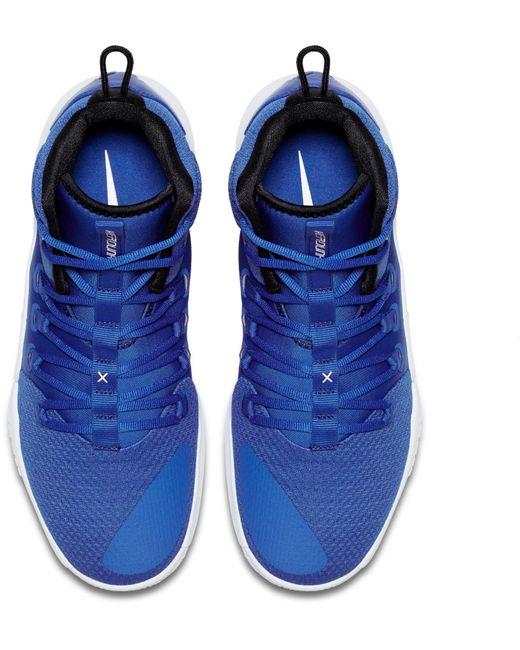 45ad15ebd5f9 ... Nike - Blue Hyperdunk X Mid Tb Basketball Shoes for Men - Lyst ...
