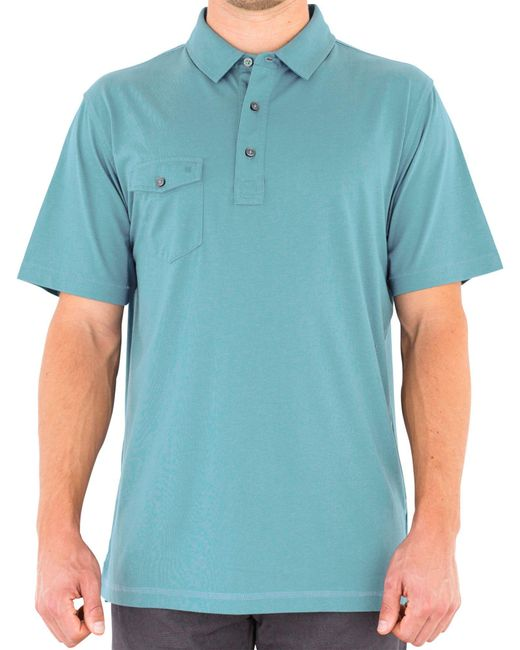 Linksoul - Blue Coast Highway Classic Knit Golf Polo for Men - Lyst