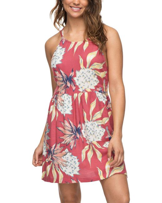 Roxy - Red Antelope Curves Dress - Lyst