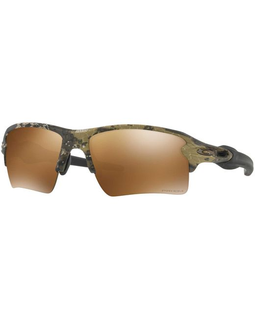 b689841c29 Oakley - Brown Flak 2.0 Xl Sunglasses for Men - Lyst ...
