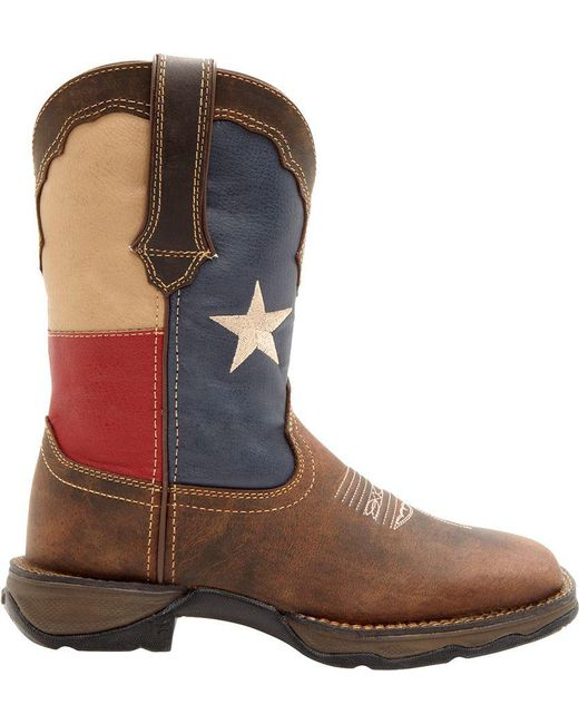 Durango | Brown Patriotic Pull-on Western Boots | Lyst