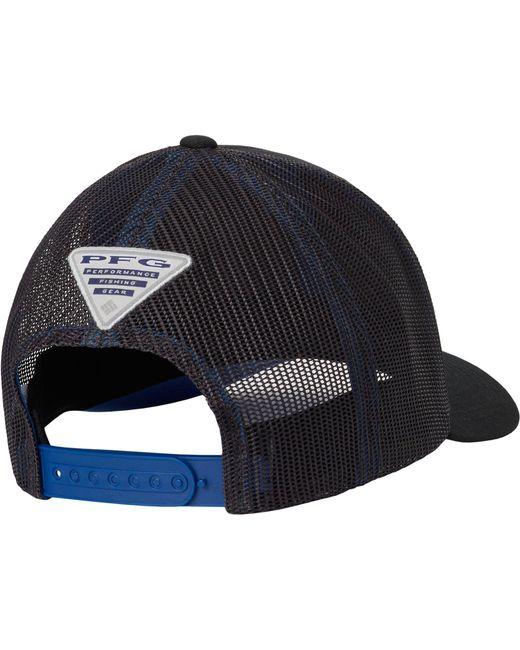 c19461649ef ... Columbia - Black Pfg Mesh Snapback Fish Flag Hat for Men - Lyst ...