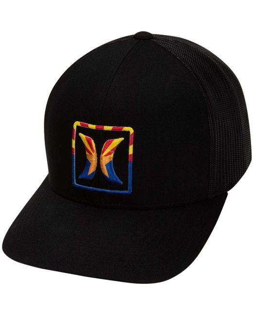 Hurley - Black Arizona Trucker Hat for Men - Lyst ... ea0bde4f2dd7
