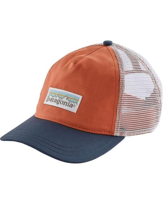 c39853cfdad Patagonia - Multicolor Pastel P-6 Label Layback Trucker Hat - Lyst ...