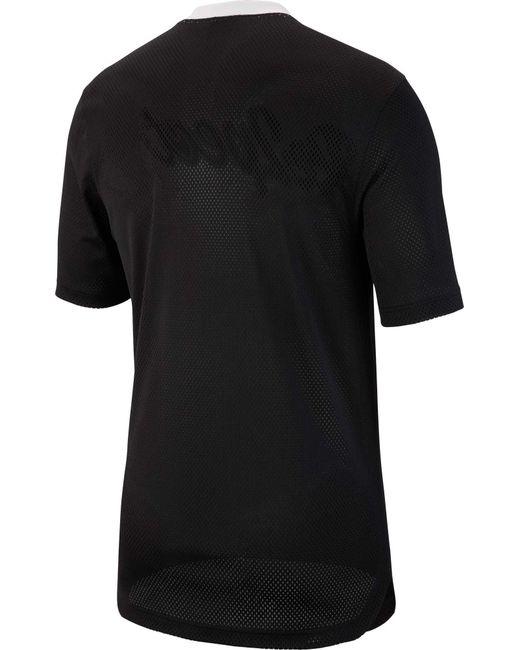 5ff5e4d6ccdd20 ... Nike - Black Re2pect Graphic Baseball Jerse for Men - Lyst ...