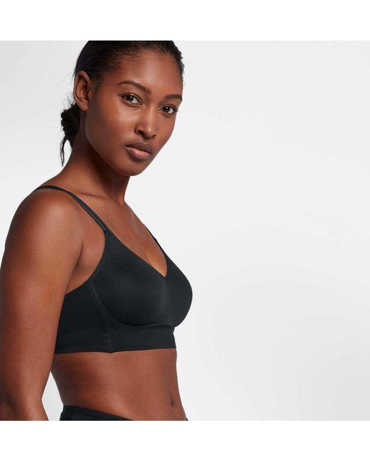 b56e0c3158cbc ... Nike - Black Indy Breathe Sports Bra - Lyst ...
