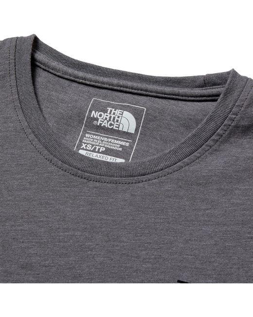 003ddad1c ... The North Face - Multicolor Sleeve Mark Long Sleeve Shirt - Lyst ...
