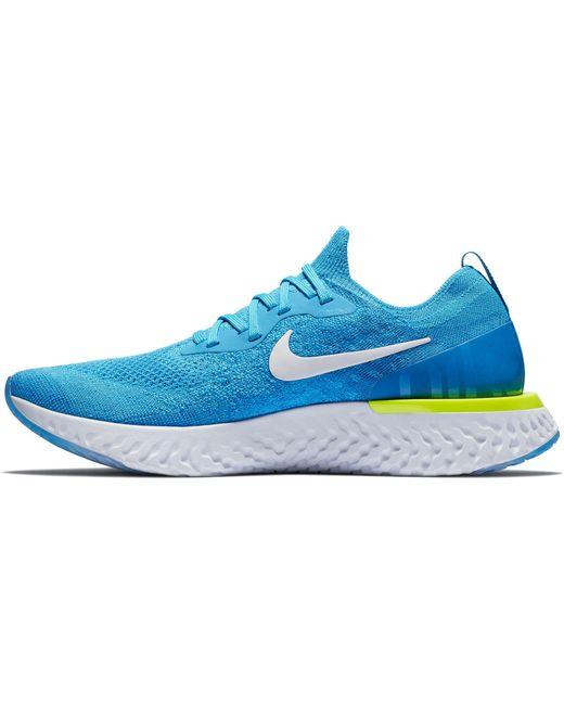 Epic En Reaccionar Flyknit Lyst Nike Zapatillas En Epic Azul Para Los Hombres 86ab8d