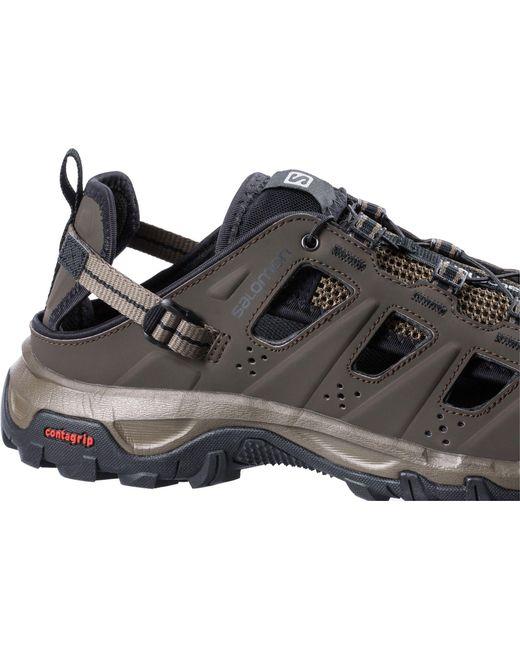 c7a142c769e9 ... Yves Salomon - Black Evasion Cabrio Hiking Sandals for Men - Lyst ...