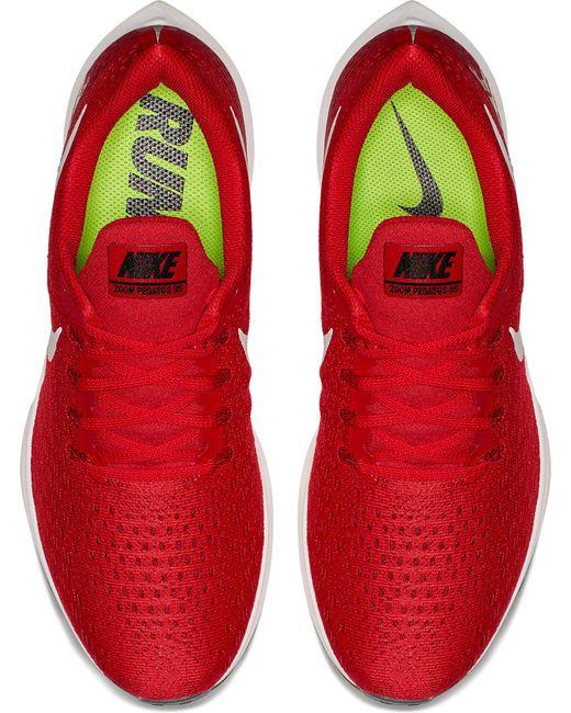 aca8b5ccc96b ... Nike - Red Air Zoom Pegasus 35 Running Shoes for Men - Lyst ...