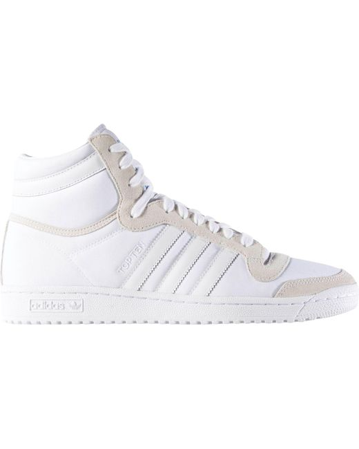Lyst Adidas Dieci Salve Occasionali Scarpe In Bianco Per Gli Uomini.