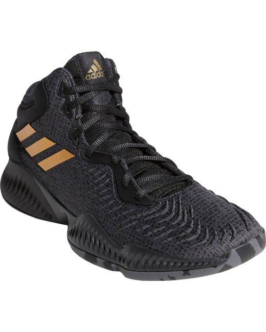 0236c6e0e5c ... Adidas - Black Mad Bounce 2018 Basketball Shoes for Men - Lyst ...