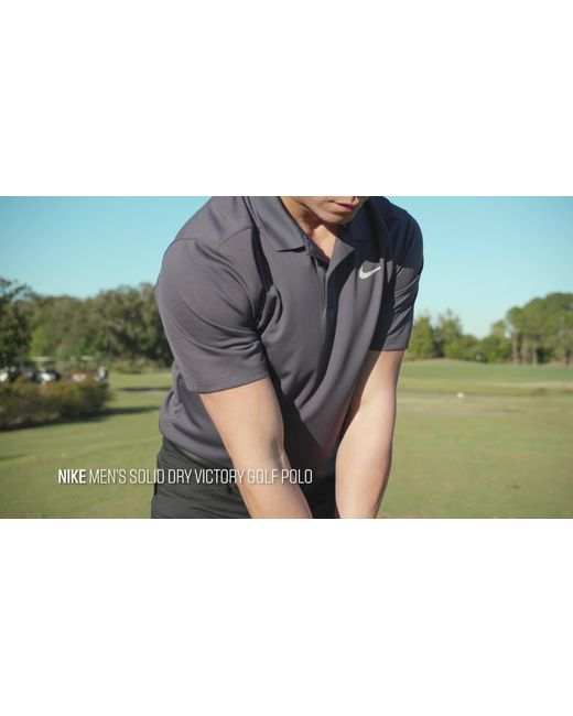 6738107f ... Nike - Multicolor Solid Dry Victory Golf Polo for Men - Lyst ...