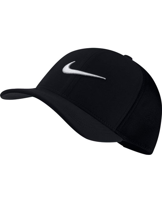 d2c6b1b213eb1 Lyst - Nike Classic99 Mesh Golf Hat in Black for Men - Save 20%