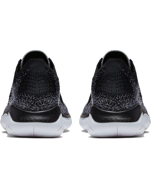 c5a7d282008b ... discount code for nike black free rn flyknit 2018 running shoes for men  lyst 96de2 86d1c