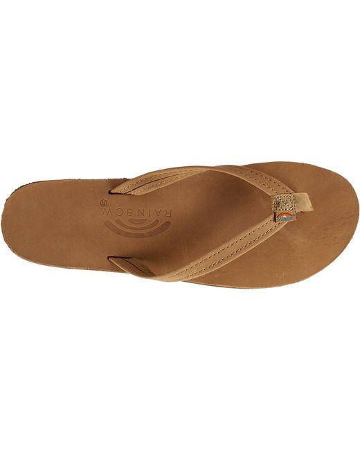 91c5b3099 ... Rainbow Sandals - Brown Narrow 301 Flip Flops - Lyst ...