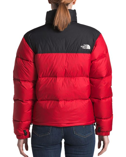 ... The North Face - Red 1996 Retro Nuptse Jacket - Lyst ... aaf197bfc