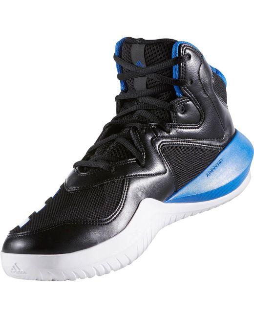 lyst adidas pazzo squadra 2017, scarpe da basket per gli uomini in nero