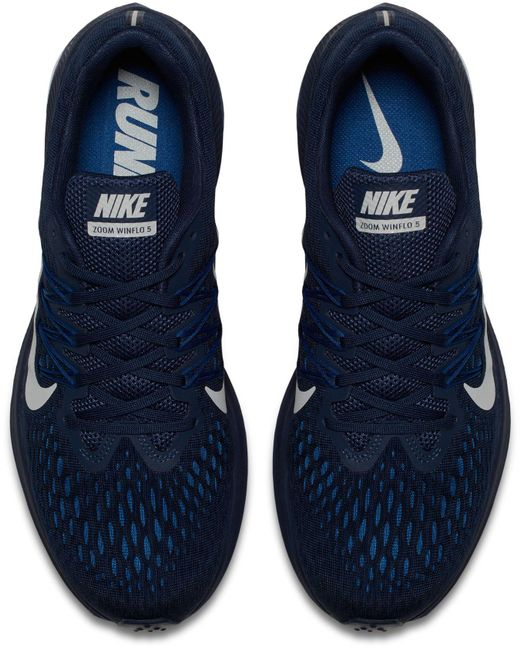 e5074fa3682 ... Nike - Blue Air Zoom Winflo 5 Running Shoes for Men - Lyst ...