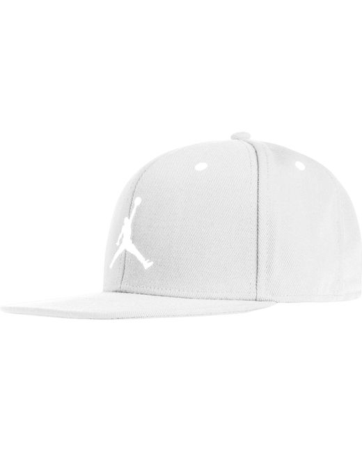 860b9670b8838 Nike - White Oys  Jumpman Snapback Hat for Men - Lyst ...