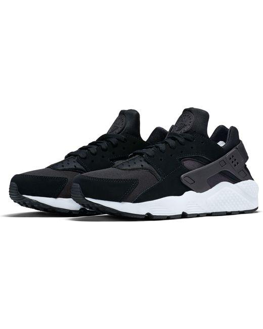7e1de4fea3b02 ... Nike - Black Air Huarache Run Shoes for Men - Lyst ...