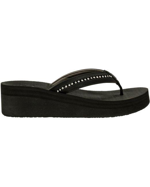 4b17789db Cobian - Black Tiffany Flip Flops - Lyst ...