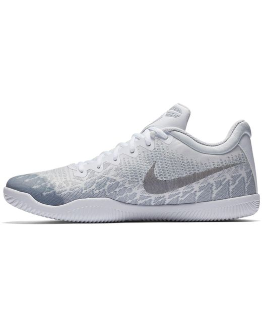 da1ef385a45 ... Nike - White Kobe Mamba Rage Basketball Shoes for Men - Lyst ...