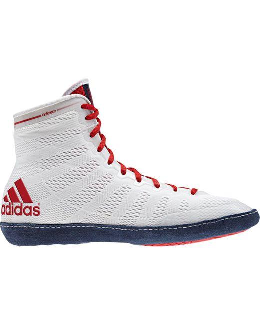 Adidas - Blue Adizero Varner Wrestling Shoe for Men - Lyst