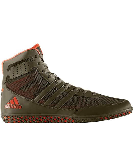 Adidas - Green Mat Wizard Dt Wrestling Shoes for Men - Lyst