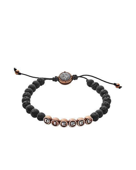 DIESEL | Black Bracelet Dx1094 | Lyst