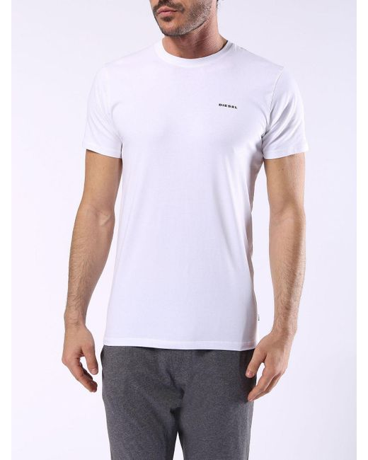 DIESEL | White Umtee-randal2pack for Men | Lyst