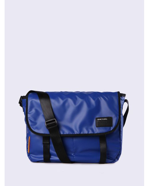 DIESEL | Blue F-discover Messenger for Men | Lyst