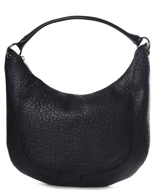 f3c82dfb5afa Ted Baker Women s Mariele Stab Stitch Hobo Bag Black in Black - Lyst