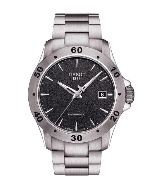 Tissot - Metallic V8 Men's Stainless Steel Mechanical Automatic Watch for Men - Lyst