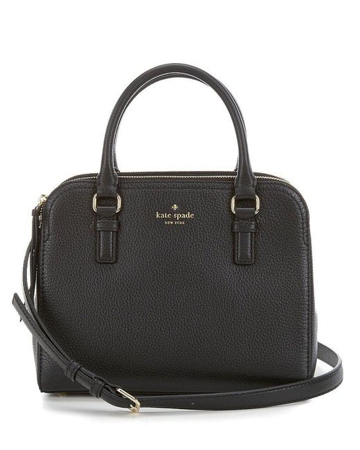 Kate Spade | Black Cobble Hill Collection Small Kiernan Satchel | Lyst
