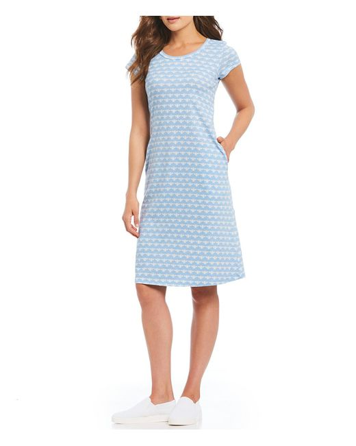 Joules - Blue Rayma Midi Dress - Lyst
