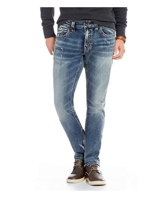 Silver Jeans Co. | Blue Taavi Slim Fit Jeans for Men | Lyst