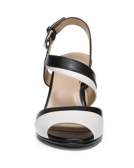 Terah Leather Colorblock Dress Sandals kOUPpkWK