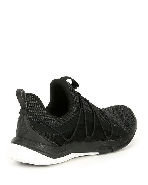 b4a58f3b3f9c Lyst - Reebok Women s Print Her 3.0 Running Shoe in Black