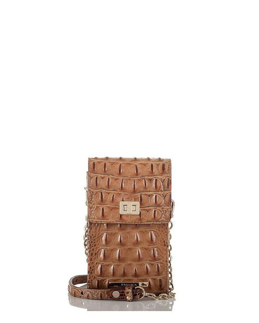 Brahmin   Brown Toasted Almond Collection Madison Cross-body Bag   Lyst