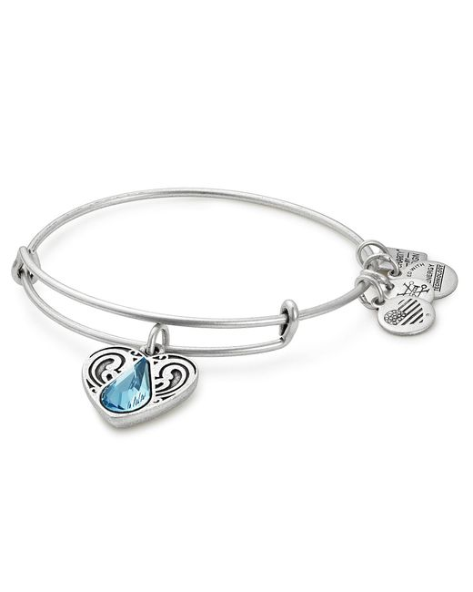 ALEX AND ANI - Metallic Living Water Charm Bangle Bracelet - Lyst