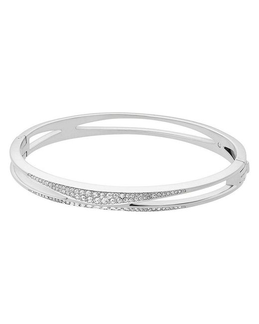Michael Kors | Metallic Beyond Brilliant Pav Bangle Bracelet | Lyst