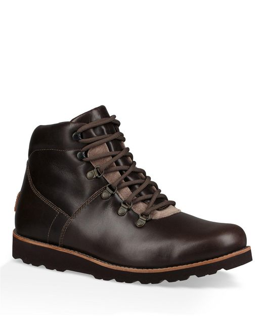 Ugg - Black Men's Hafstein Waterproof Boots for Men - Lyst